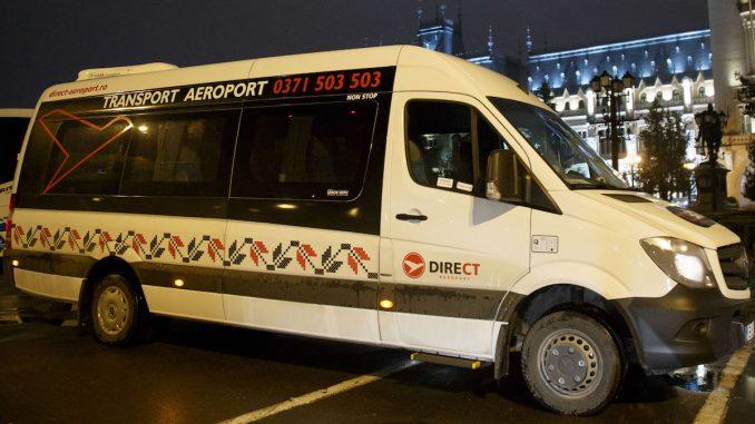Microbuz Direct Aeroport. FOTO Daniel Năstase