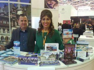 Corina Martin și Daniel Ilușcă. FOTO Arhivă