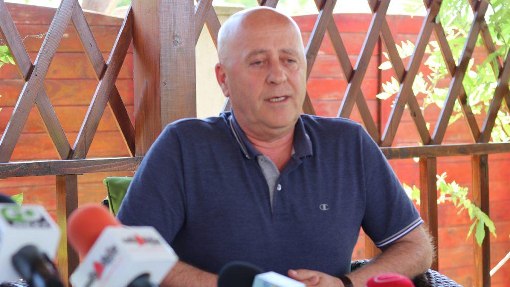 Horia Teodorescu, președintele Consiliului Județean Tulcea. FOTO Adrian Boioglu